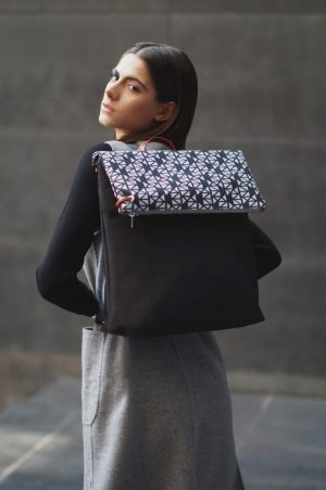 pomegranate (black grey) backpack 4