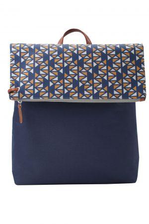 Pomegranate (dark blue yellow) backpack 2