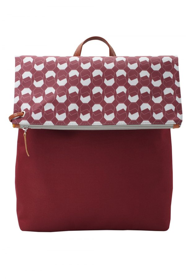 walnut (dark red) backpack 2