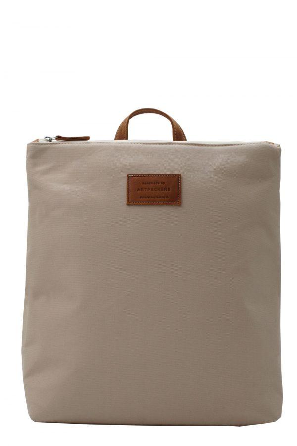 beige backpack summer - base 1