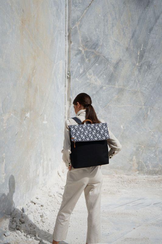 pomegranate (grey black) backpack 1