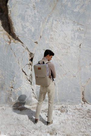 labyrinth (mocha) rucksack 1