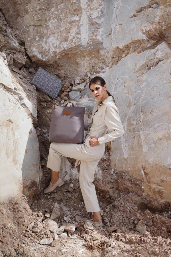 labyrinth (mocha grey) backpack 2