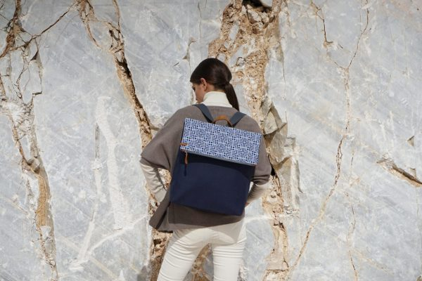 labyrinth (blue blue) backpack 2