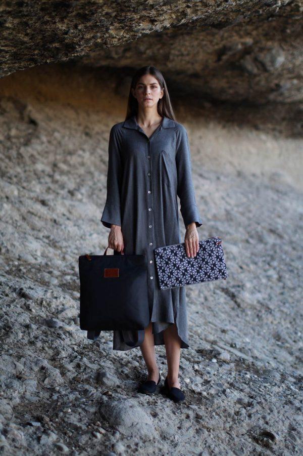 pomegranate (black grey) backpack 3