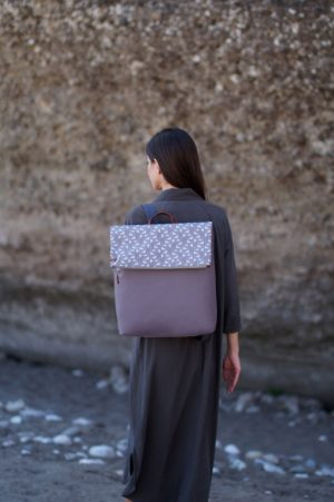 pomegranate (mocha grey) backpack 1