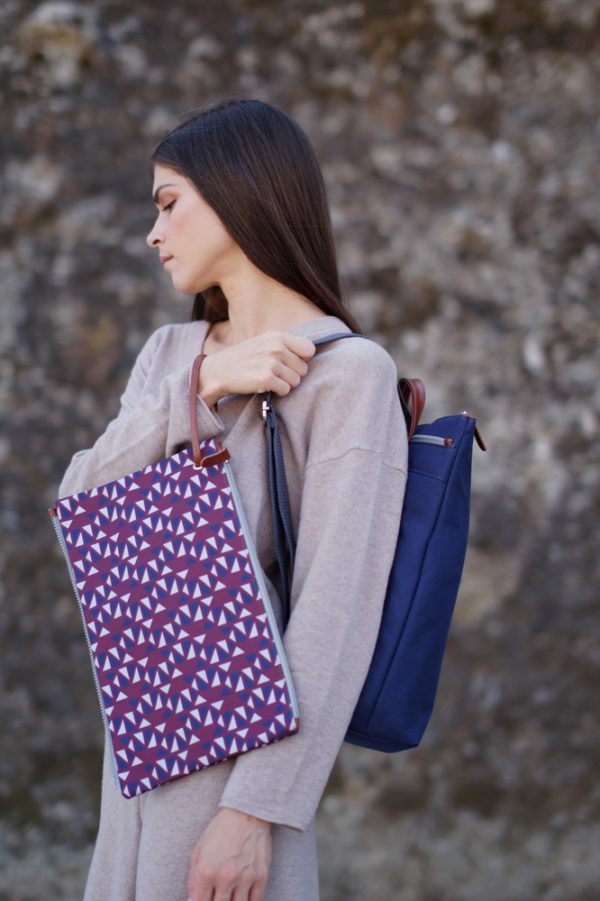 Pomegranate (dark red blue) backpack