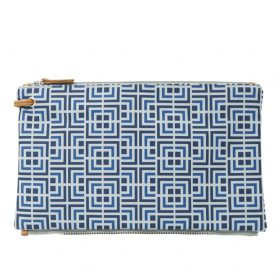 Labyrinth (blue blue) top clutch