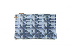 labyrinth (blue blue) top clutch 1