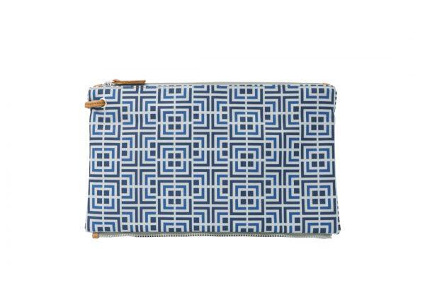 labyrinth (blue blue) top clutch 1