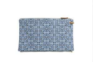 labyrinth (blue blue) top clutch 2