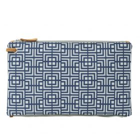 Labyrinth (blue grey) top clutch