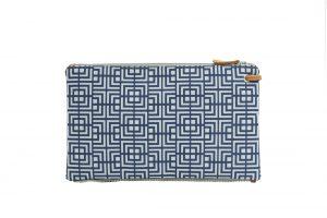 labyrinth (blue grey) top clutch 2
