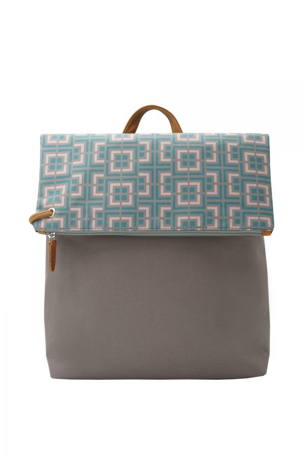 labyrinth (mocha pink) backpack 3