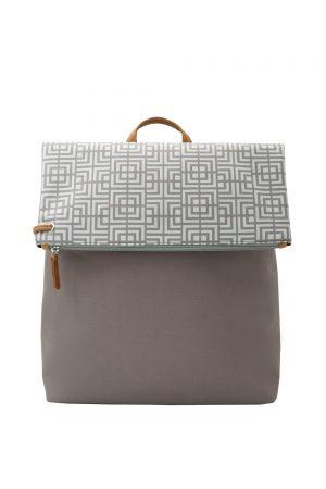 labyrinth (mocha grey) backpack 4