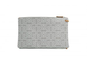 labyrinth (mocha grey) top clutch 2