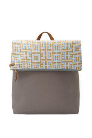 labyrinth (yellow purple) backpack 4