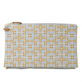 Labyrinth (yellow purple) top clutch
