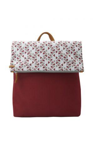 pomegranate (dark red grey) backpack 3