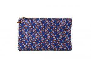 pomegranate purple orange top clutch 1