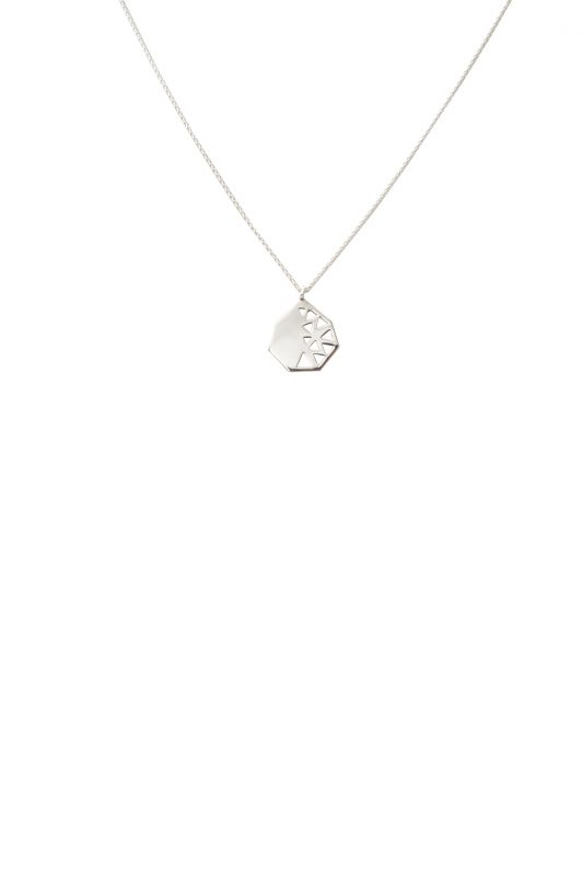 fig necklace (silver)