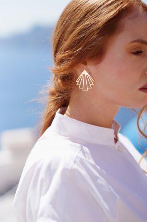 circe earrings (gold) 3