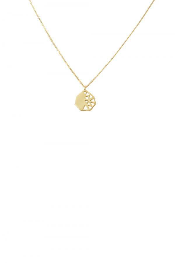 fig necklace (gold)