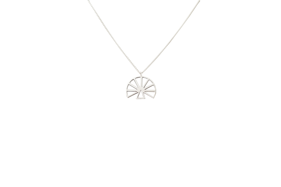 hera (S) necklace (silver)