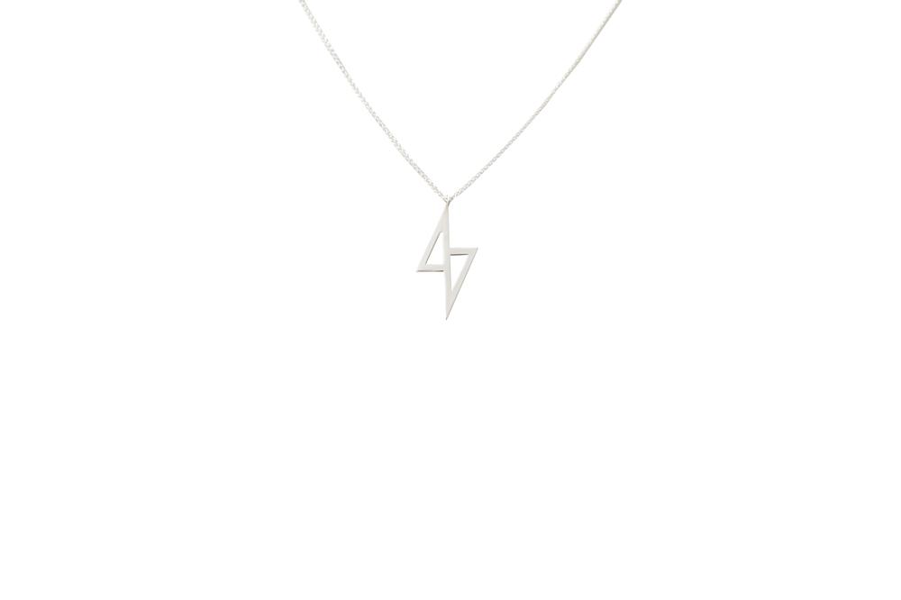 zeus necklace (silver)