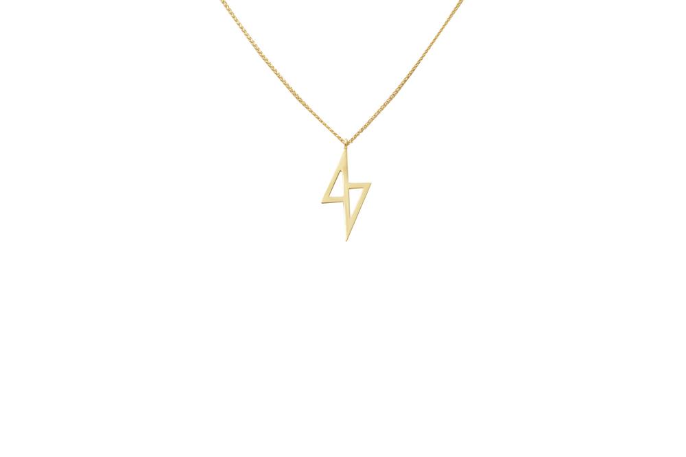 zeus necklace (gold)