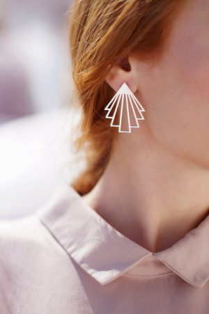 circe earrings (silver) 2