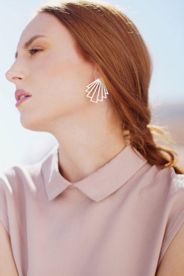 circe earrings (silver) 1