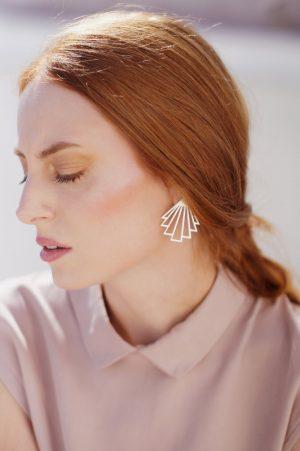 circe earrings (silver) 3