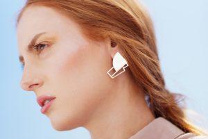 sirens earrings (silver) 2