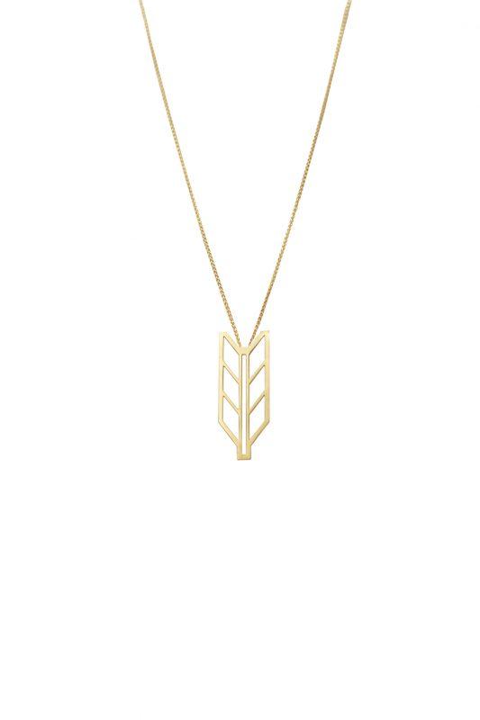 demeter necklace (gold)