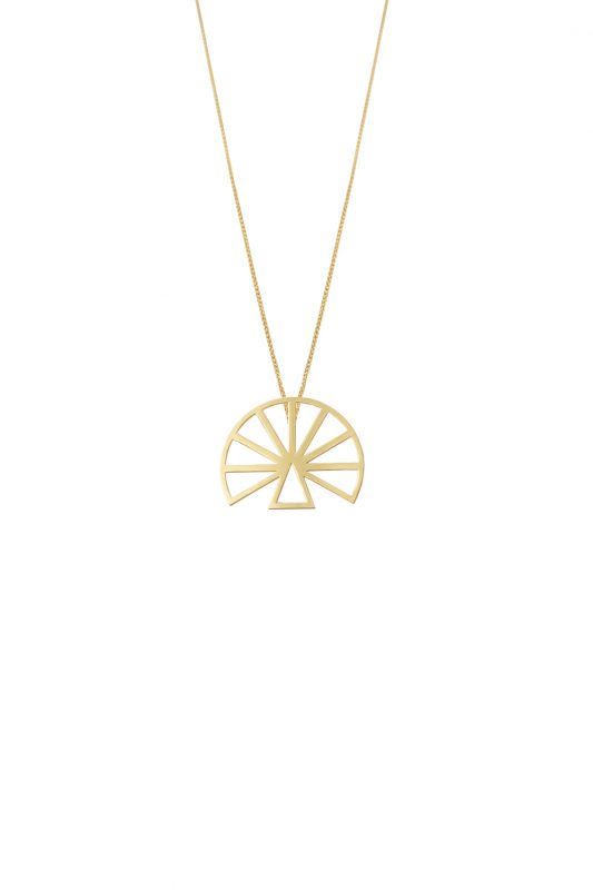 hera (L) necklace (gold)