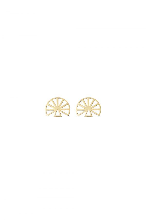 hera earrings (gold)