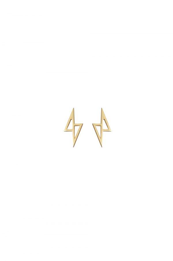 zeus earrings (gold)