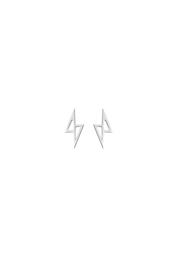 zeus earrings (silver)