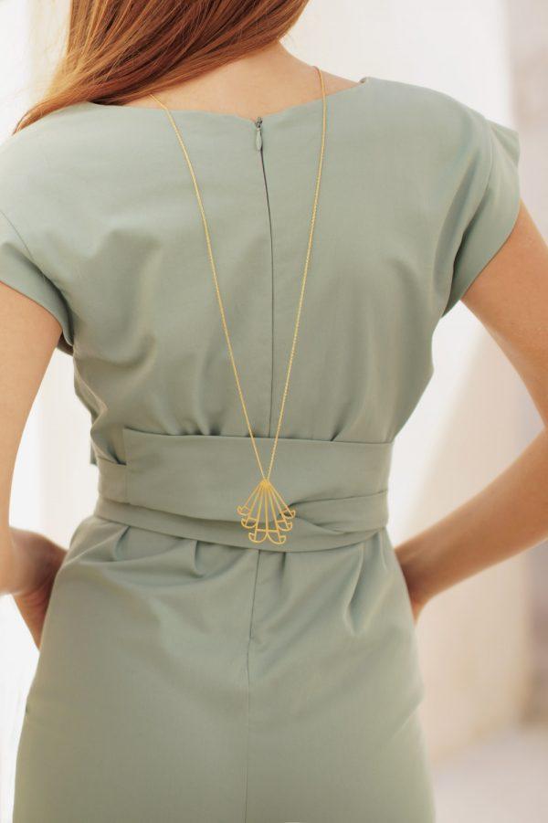 aeolus necklace (gold) 2