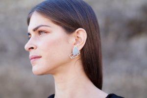 sirens earrings (silver) 5