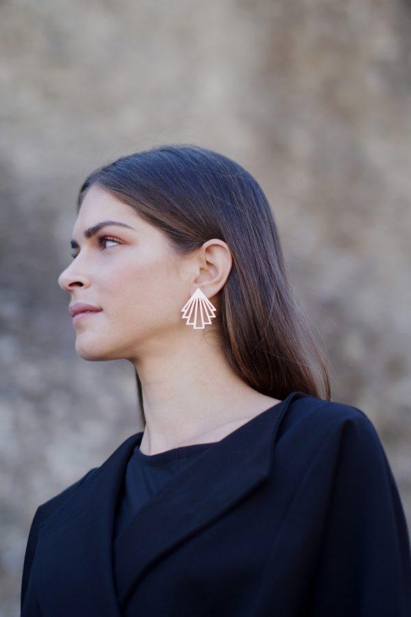 circe earrings (silver) 4