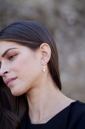 demeter earrings silver 2