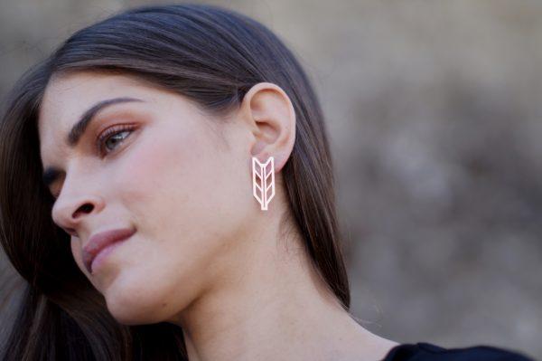demeter earrings silver 3