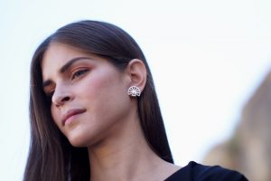 hera earrings silver 2