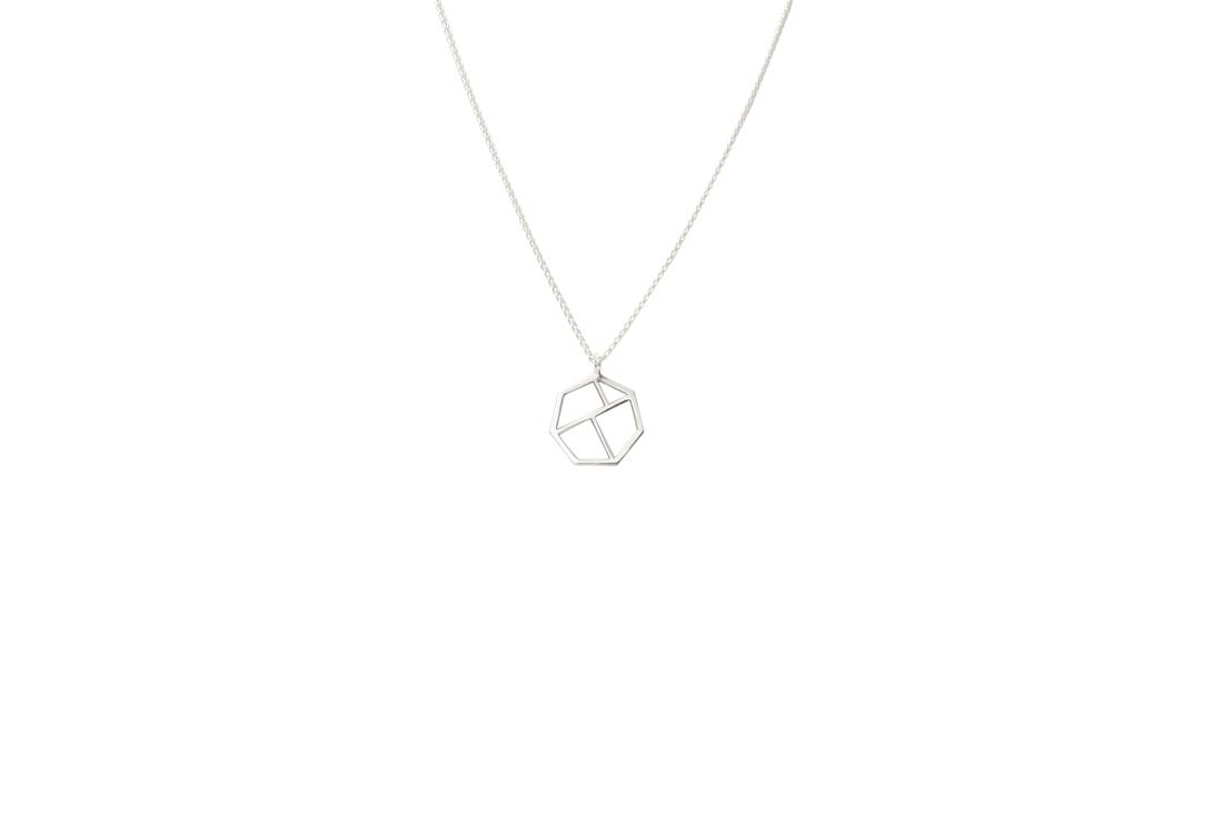 minimal necklace (silver)