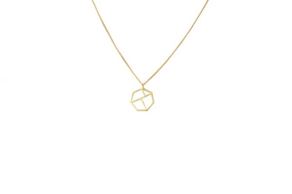 minimal necklace (gold)