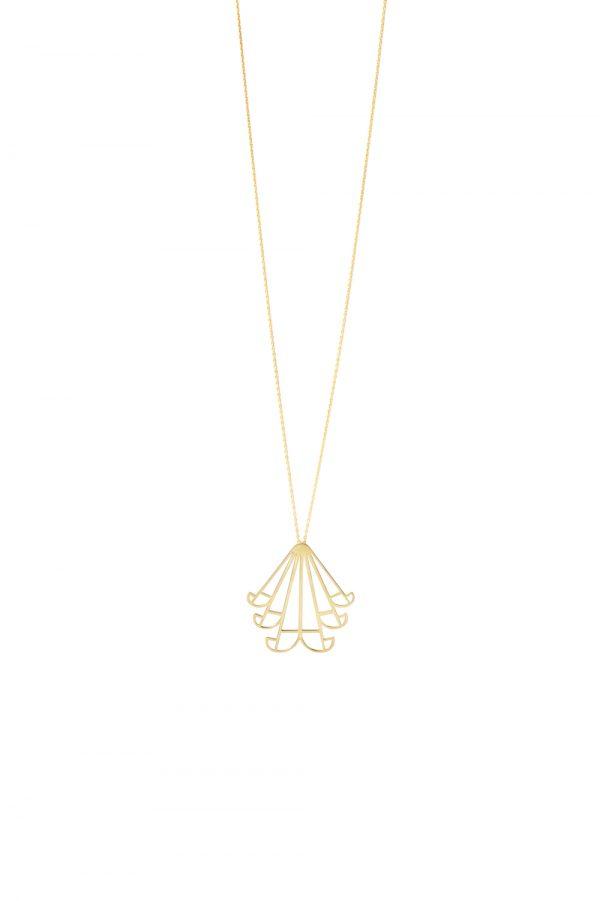 aeolus necklace (gold) 3