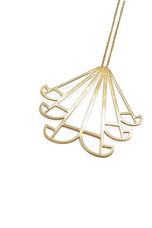 aeolus necklace (gold) 4