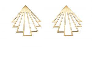 circe earrings (gold) 6